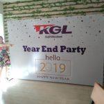 Làm Backdrop Tiệc Cuối Năm